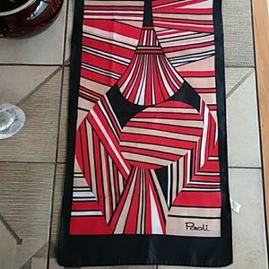 Just in! PAOLI Vintage Geometric Scarf